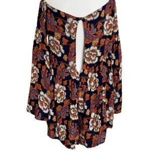Urban Outfitters Shorts - Urban Outfitters - Floral Romper